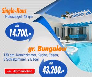 Häuser, Bungalows, Villen